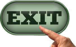 Symbole 'exit'